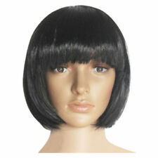 US Womens BOB Short Hair Wig Straight Synthetic Anime Cosplay Party Full Wigs