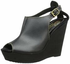 Women's Sbicca Stanza Wedge - Black - Free Shipping!