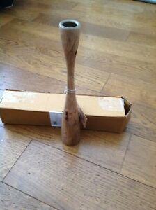 Nkuku - Himba Mango Wood Candlestick - Large