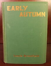 Louis Bromfield Early Autumn 1926 1st Edition 1st Printing Pulitzer Prize