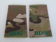 Royal Dragoon Guards MTP Rank Slides - RDG - New