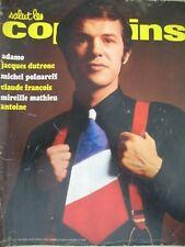 55 SALUT LES COPAINS ADAMO DUTRONC POLNAREFF M. MATHIEU C. FRANCOIS ANTOINE 1967