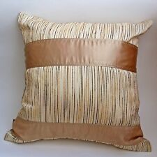 "2pcs/lot throw pillow cover cushion case beige ivory white brown 18x18""45x45cm"
