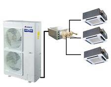 GREE MultiSplit 3 x 4,5kW Deckenkassette Klimaanlage Inverter Klimageräte
