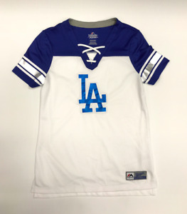 MLB Los Angeles Dodgers Majestic 2018 Draft Me Fashion Top - Women's T-Shirt