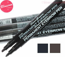 Stargazer SEMI-PERMANENT EYEBROW PEN Eye Eyes Brow Pen Tool Pencil - Black/Brown