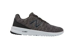 New Balance Mens Cush Plus Trainers Sports Shoes Grey White