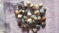 1 Pack of 200g Mixed Natural Agate Tumbled Stones - Crystal Healing