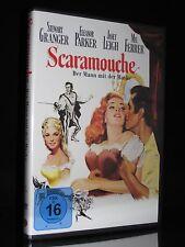 DVD SCARAMOUCHE - DER MANN MT DER MASKE - STEWART GRANGER + JANET LEIGH * NEU *