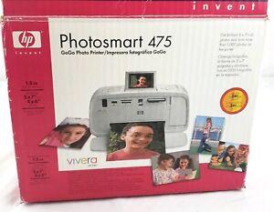 HP Photosmart 475 Digital Photo Inkjet Printer