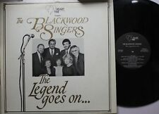 Country Autographed Lp The Blackwood Brothers The Legend Goes On On Heart Fire