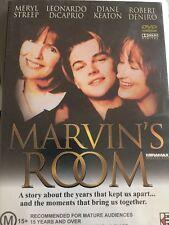 Marvin's Room (DVD, 2003) Leonardo Dicaprio - Free Post!!