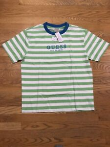 Guess Jeans Los Angeles Capsule Striped Tee Rocky Witherspoon Pac Sun