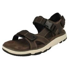 Mens Clarks Strapped Sandals 'Un Trek Bar'
