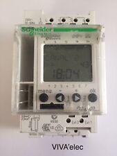 INTERRUPTEUR HORAIRE SCHNEIDER DIGITAL IHP 2C 24 H - 7 JOURS 2 OF  Réf CCT15853.
