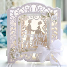 Build Up Greeting Card Frame Metal Cutting Dies Stencil Scrapbooking Embossing