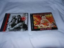 Red Hot Chili Peppers - 2 CDs Suck my Kiss and Give it away - LIMITED EDITION