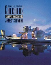 Calculus: Concepts and Contexts by James Stewart (Hardback, 2001)