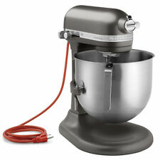 KitchenAid Commercial 8-Qt Bowl Lift NSF Stand Mixer KSM8990DP 1.3HP Dark Pewter
