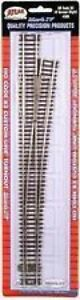 Atlas #566   #8 Right Custom-Line Turnout Switch Track - HO Scale Code 83 Rail