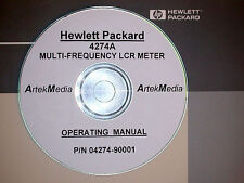 HP 4274A Mulitfrequency LCR Meter Operating Manual