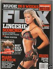 FLEX Bodybuilding Magazine Lingerie Issue WWE /WWF Diva Ashley Massaro 12-05