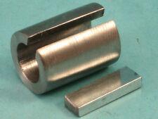 "5/8"" X 1"" X 3"" Shaft Adapter Sprocket Pulley Bushing Reducer Sleeve & Key"