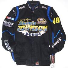 Size XXXXL Nascar  Lowes Jimmie Johnson 5 Times Champion Cotton Jacket  4XL