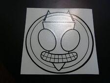Invader Zim Irken  vinyl sticker decal window laptop