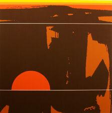 "Matthew Ruddy ""Earth Form"" Original Paper Collage abstract 1982 fine art OBO"