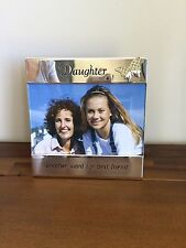 Daughter Best Friend Photo Frame/Gift Silver Butterfly