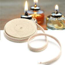 4.5M 15Feet White Flat Cotton Alcohol Wick Oil Lamp Wick Burner Lab Accessories