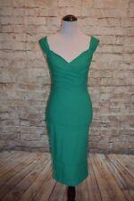 Rock Steady Diva Wiggle Dress Green  4X NWT  Retro Sheath Modcloth Lady Love