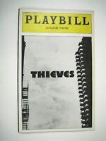Thieves Playbill 1974 Longacre Theatre Marlo Thomas Richard Mulligan Hickey