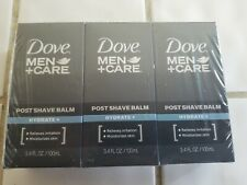 3 pack Dove Men+Care  Post Shave Balm Hydrate 3.4 oz