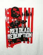 Red Dead Redemption Outlaws The End Video Game Promo T-Shirt NOS Unused Kids LG