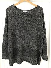 Marie Sixtine Slouchy Metallic Sweater