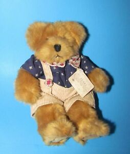 """Russ Berrie Franklin Patriotic Plush Bears from the Past 13"""""""