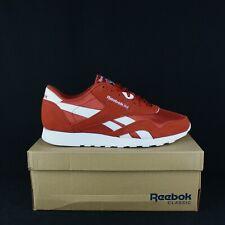 REEBOK DV5790 Mason Red White Classic Nylon men Size 10.5