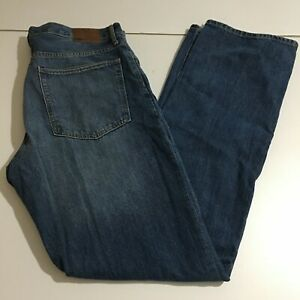 Gap Standard Mens Straight Jeans Size 34x36 Medium Wash NWT