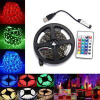 5V 5050 RGB LED Strip Light Bar Decor TV Background Light Strip Colorful