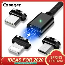 Magnetic Micro USB Cable For iPhone Samsung Fast Charging Data Wire