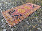 Turkish area rug, Vintage wool rug, Carpet, Handmade rug | 3,9 x 8,1 ft