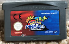 Pokemon Pinball: Ruby & Sapphire - Nintendo Game Boy Advance GBA UK PAL Game