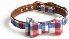 PU Axgo Leather the bow cute and sweet Puppy Small Dog / Cat Collar