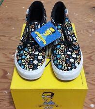 Vans X The Simpsons X Geoff Mcfetridge Chukka Size 9 SAMPLES supreme wtaps