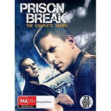 Prison Break Complete Season Series 1, 2, 3 & 4 DVD R4 Box Set New and Sealed