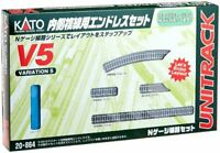 Kato 20-864 UNITRACK Variation Set V5 Inner Oval Track Set N scale 14703 JAPAN