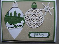 Sparkling Sleigh Ride Christmas Glad Tidings Card Kit w/Some Stampin Up