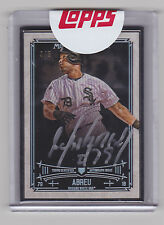 JOSE ABREU 2015 Topps Museum Collection Black Framed Auto #D /5 Sealed White Sox